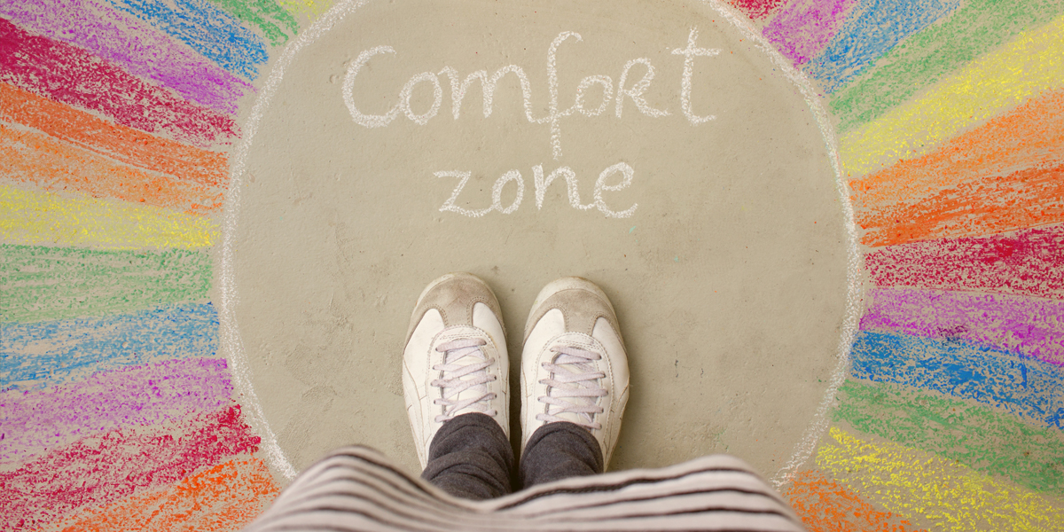 When My Comfort Zone Isn't Comfortable Anymore