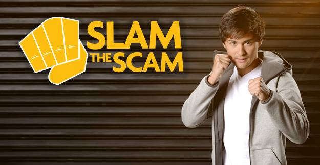 Slam the scam landing page image